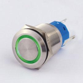 Sintron Connect Drukknop+verl. 19mm groen