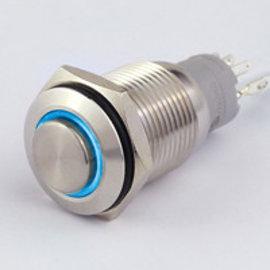 Sintron Connect Drukknop+verl. 16mm blauw