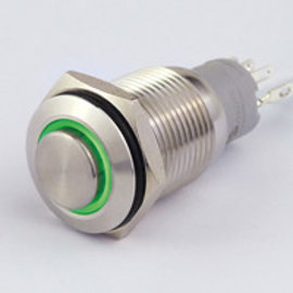 Sintron Connect Drukknop+verl. 16mm groen