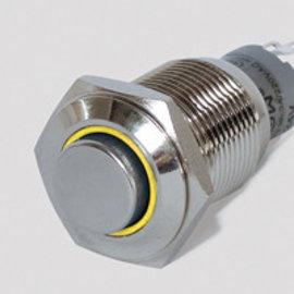 Sintron Connect Schakelaar+verl. 16mm geel