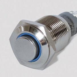 Sintron Connect Schakelaar 16mm blauw 6-24V
