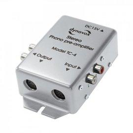 Audio Dynavox Phono voorversterker TC4