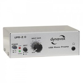 Audio Dynavox Phono voorversterker usb UPR 2.0