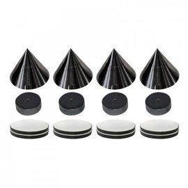 Audio Dynavox Spikes 4 stuks zwart