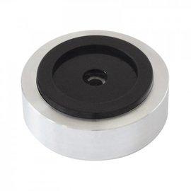Audio Dynavox Aluminium voeten  4 delig zilver
