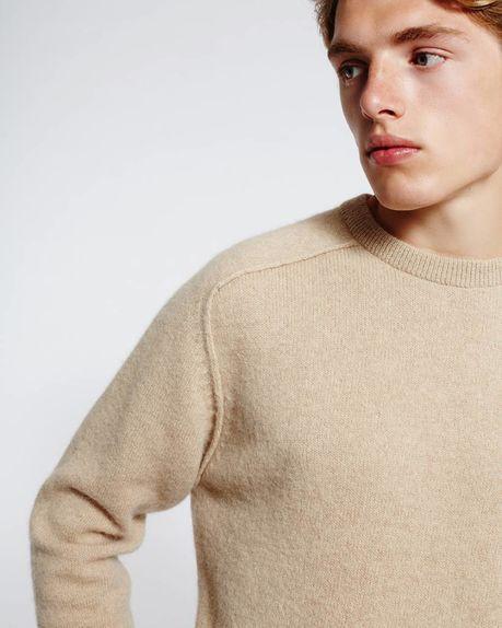 Bobby Raglan Sweater / sandy