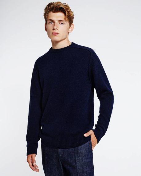 Detale Studio Bobby Raglan Sweater navy