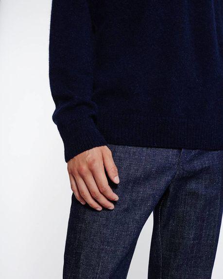 Bobby Raglan Sweater / navy