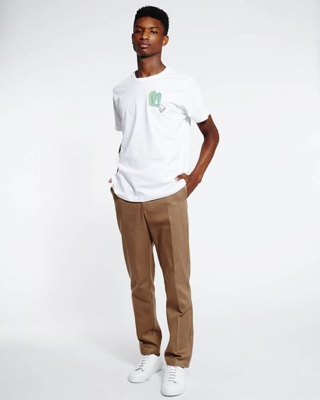 Detale Studio Enzo logo t-shirt white