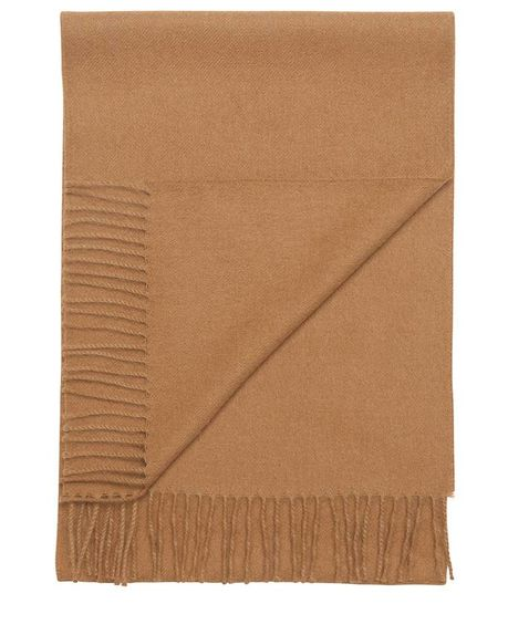 Detale Studio Ludo large alpaca scarf camel
