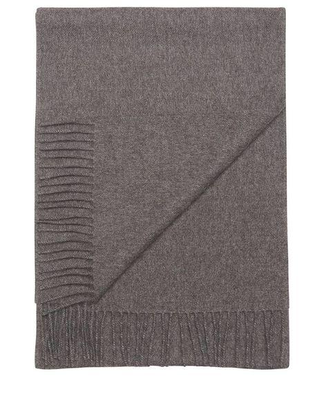Detale Studio Ludo large alpaca scarf anthracite