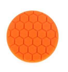 Infinity Wax 6 inch Hex Polishing Pad - Orange