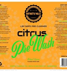 Infinity Wax Citrus Pre-Wash 5L