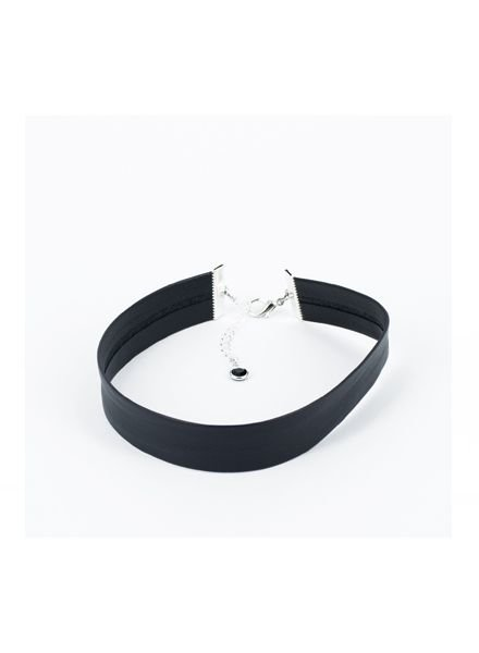 SOSTER Black Leather Choker