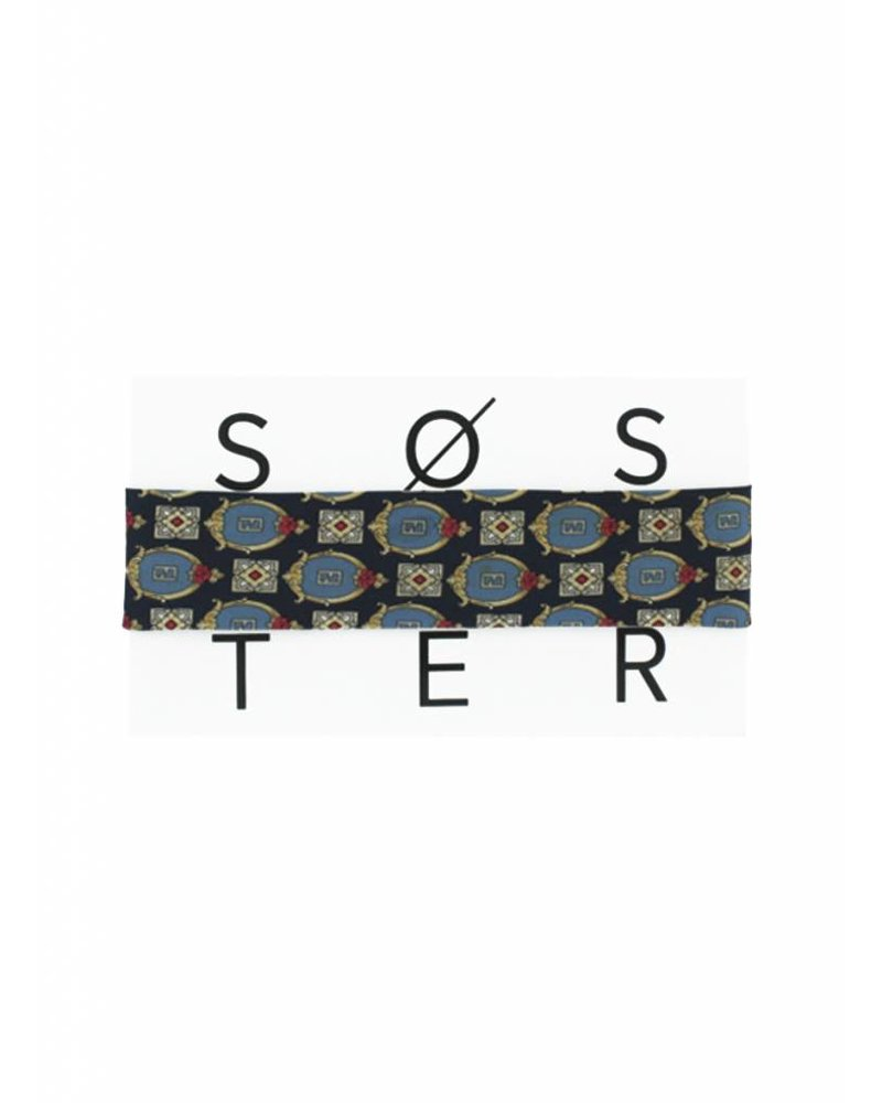 SOSTER Vintage Tie Choker / Fendi