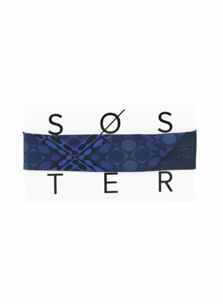 SOSTER Vintage Tie Choker / Gucci Blue