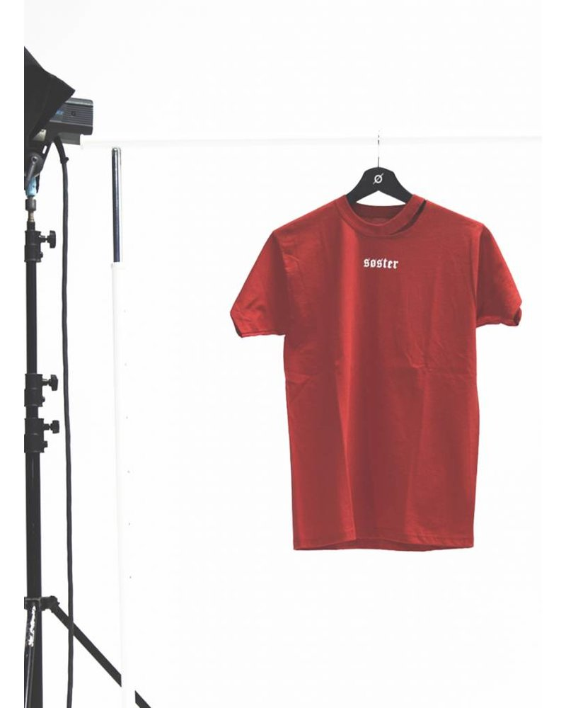 SOSTER T-shirt Red