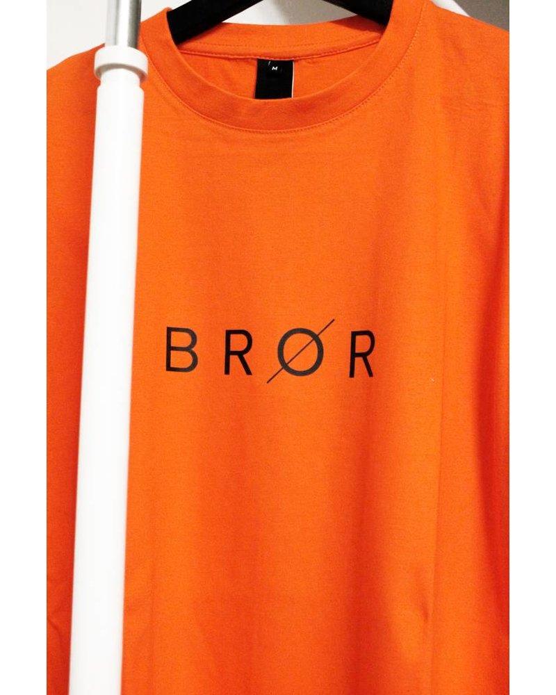 BROR Orange BROR Shirt