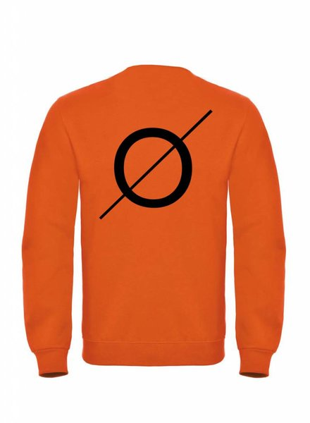 BROR Orange Sweater