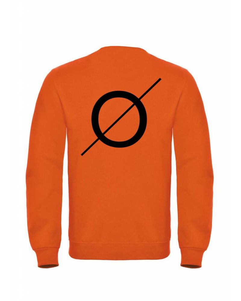 BROR Oranje  Sweater