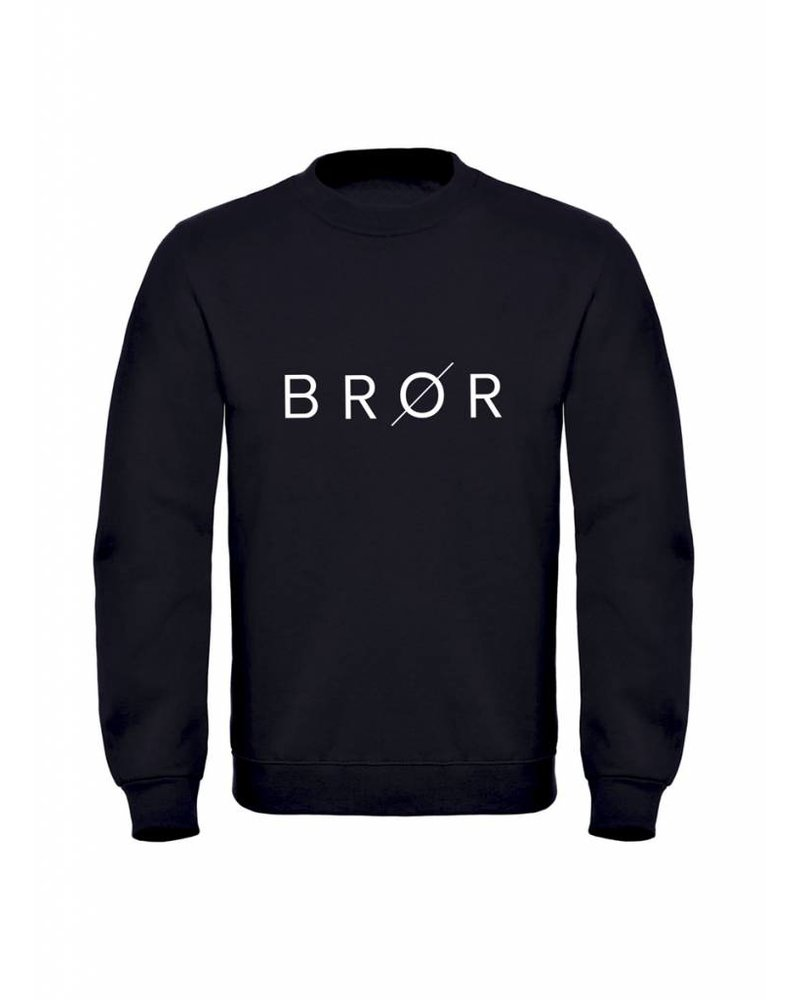 BROR Black Sweater