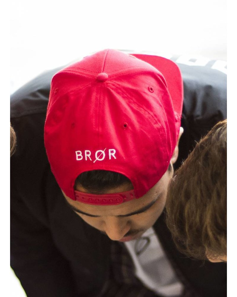 BROR Red Snapback
