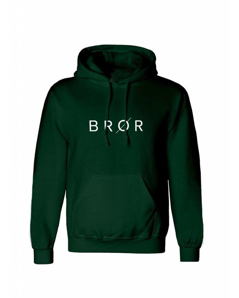 BROR Dark Green Hoodie