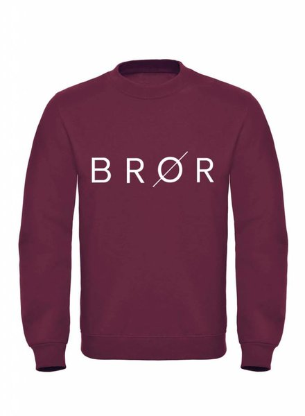 BROR Bordeaux Sweater