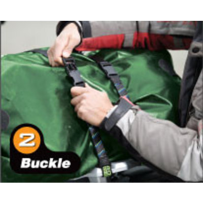 ROKstraps Adjustable Motorcycle/ ATV Straps Large