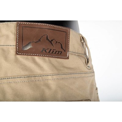 KLIM Outrider Motorcycle Pant - Light Brown