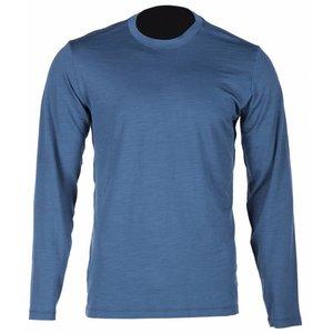 KLIM Teton Merino LS Shirt - Blauw