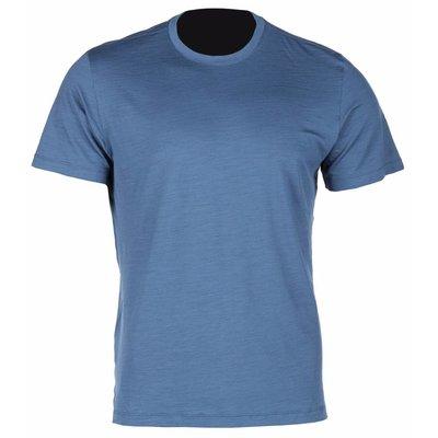 KLIM Teton Merino SS Shirt - Blauw