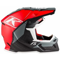 KLIM F5 Helm - Ion Red