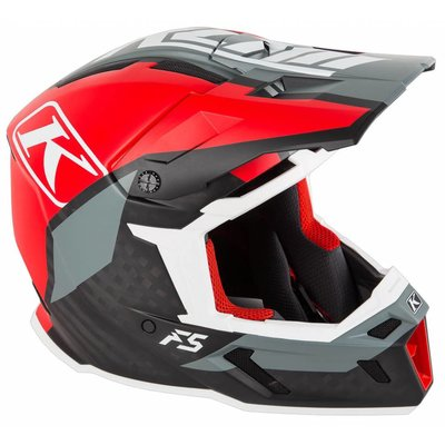 KLIM F5 Off-Road Helmet - Ion Red