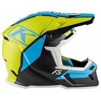 KLIM F5 Helm - Ion Green