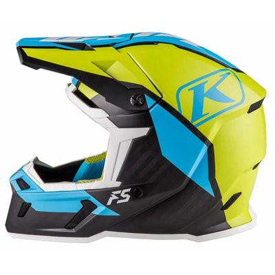 KLIM F5 Off-Road Helmet - Ion Green