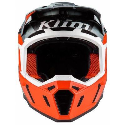 KLIM F5 Off-Road Helmet - Camo Orange