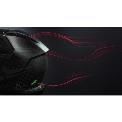 KLIM F5 Koroyd Off-Road Helmet - Chasm Orange