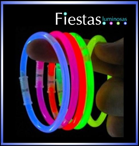 Glow Bracelets assorted colours (100 uds)