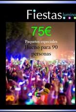 Paquete de fiesta 75€