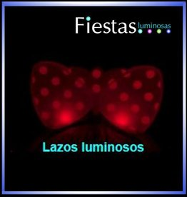 Diademas Luminosas Lazo LED    (5 uds)