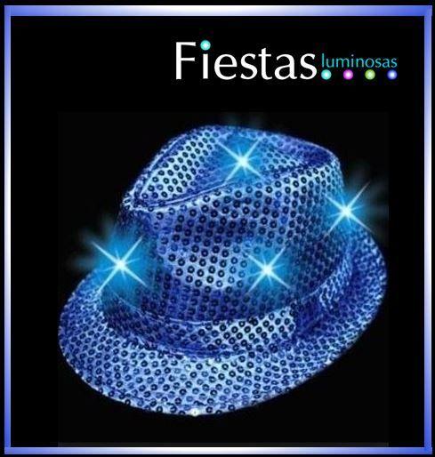 LED Glow hat (2 uds)