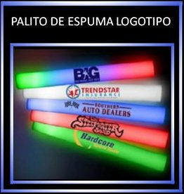 Foam sticks with logo (100 uds)