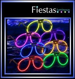 Gafas aviadores luminosas, fluorescentes  (10 uds )