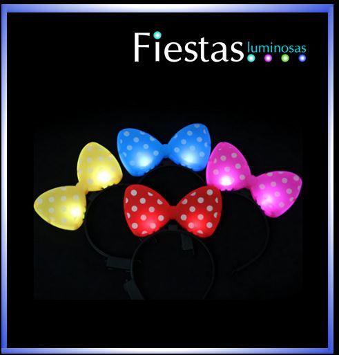 Lazos LED en colores mezclados( 5 uds )