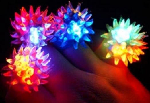 Anillos  LED descuento