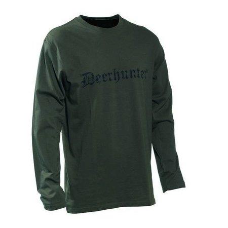Deerhunter Logo T-shirt L/S Print Logo