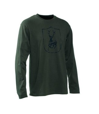 Deerhunter Logo T-shirt L/S Shield Logo