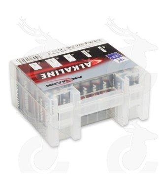 Ansmann Alkalische rote 1.5V Mix Box35