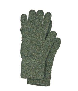 Skogen Strick Handschuh Oliv (315) One size